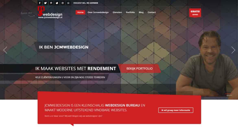 Jcmwebdesign WordPress Webdesigner Hoofddorp